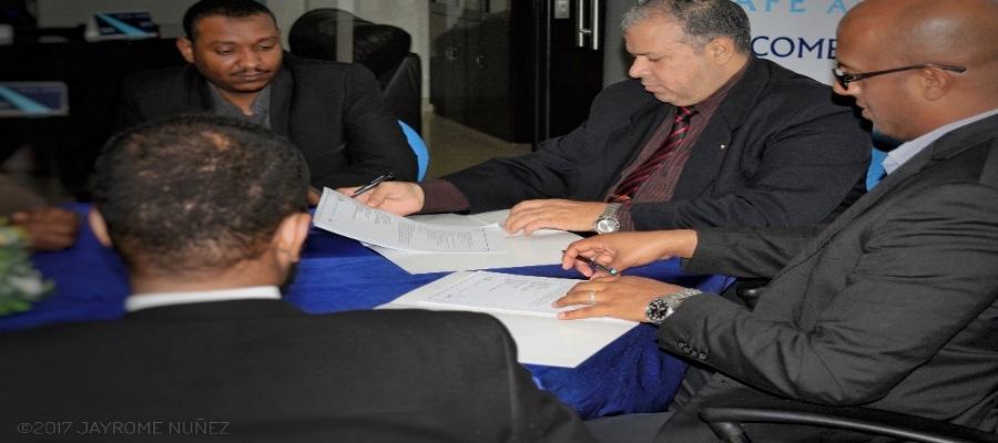 طيف العربية توقع مذكرة التفاهم مع جمعية المهندسين السودانين  23/2/2017