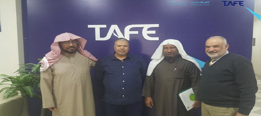 طيف العربية تستقبل جمعية بناء وتنمية مساكن جازان