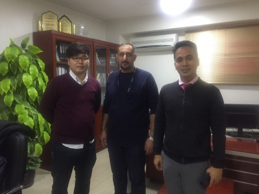 زيارة ادارة شركة هونداي لمعهد طيف العربية للتدريب